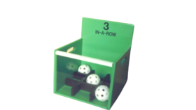 Image of a 3 In A Row Carnival Game Rental