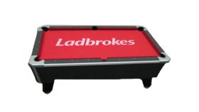 Image of a Billiards/Pool Game Table (Custom Print Felt)