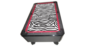 Image of a Billiards/Pool Game Table (Zebra Felt)