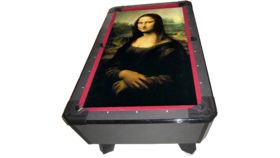 Image of a Masterpiece Billiards/Pool Game Table (The Mona Lisa Felt)