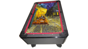 Image of a Masterpiece Billiards/Pool Game Table (Cafe At Night Felt)