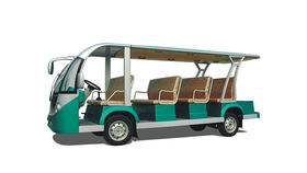 Image of a 12-15 Passenger Limo Electric Golf Cart Rental
