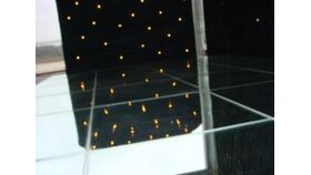 Image of a Gloss Mirror Dance Floor Section - 4' x 4'