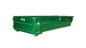 Image of a Concrete Only Dumpster (7 Yard)