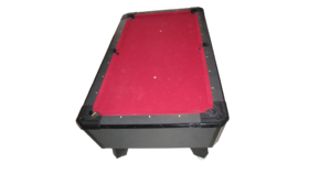 Image of a Billiards/Pool Game Table (Red)
