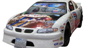 Image of a Nascar Race Car Video Game
