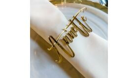 Luxury Mirrored Place Names in Gold image