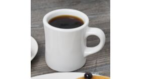 Image of a 9 oz. White China Diner Mug