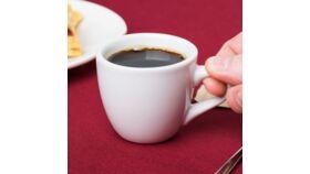 Image of a 3.5 oz. Bright White Espresso China Cup