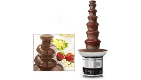 Image of a CHOCOLATE FOUNTAIN 7TIERS ( UP TO 22 POUND OF CHOCOLATE)