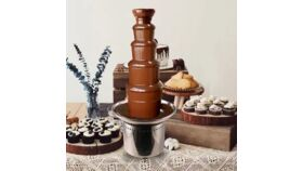Image of a Full Service Chocolate Fountain Cortejo Package #2