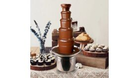 Image of a Full Service Chocolate Fountain Aztena Package #3