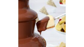 Image of a Chocolate Pro Milk Chocolate Melting Chocolate Wafers - 2 lb.