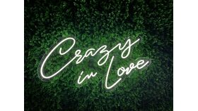 Image of a Crazy In Love LED Sign