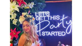 Let's Get This Party Started LED Sign image