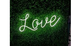 Image of a LOVE LED Sign