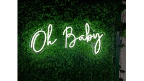 Image of a Oh Baby LED Sign