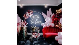 Image of a CHEERS TO LOVE NEON LED SIGN