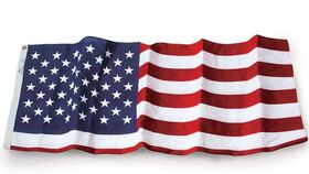 Image of a American Flag Large