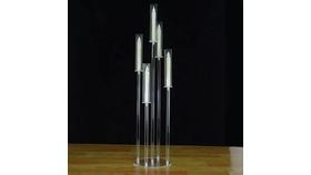 Image of a 5 Arm Candelabra Crystal Candle holder