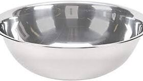Image of a 12 inch stainless mixing bowl