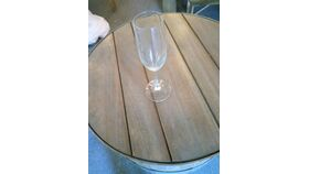 Image of a Champagne  High steam  Flute 8  oz