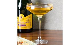 Image of a Champagne glass old fashion 3 .5 oz