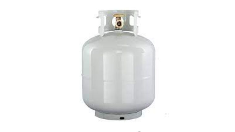 Picture of a 20lb Propane