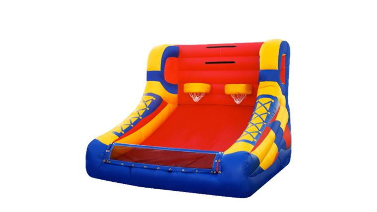 Picture of a Basketball Inflatable Game