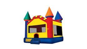 Image of a 15' x 15' Castle