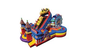 Image of a Carnival Obstacle Course