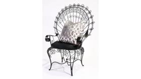 Image of a Anastasia- Iron Arm Chair