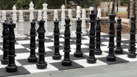 Image of a Giant Chess Game