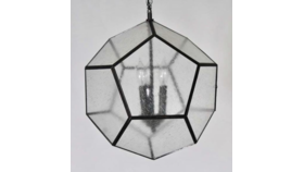 Image of a Becky - Seeded Glass Pendant