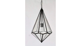 Image of a Denise - Seeded Glass Pendant