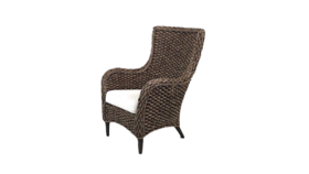 Image of a Alexis - Rattan Arm Chair