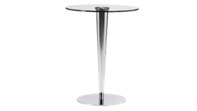 Image of a Audrey - Silver Glass Cocktail Table
