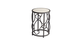 Image of a Ava - Iron Side Table Small