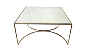 Image of a Bea - Gold Mirror Coffee Table