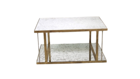Image of a Betty - Gold Mirror Coffee Table