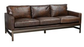 Image of a Shauna- Leather Sofa