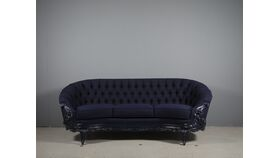 Image of a Wendy-Navy Tufted Vintage Sofa