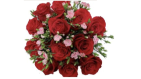 Image of a Be Mine- Valentines Bouquet