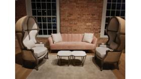 Allison- Blush Sofa image