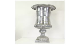 Image of a Hera- Silver Oversized Urn