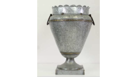 Image of a Annette- Tin Oversized Urn