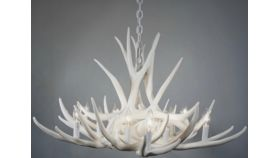 Image of a 4' Antler Chandeliers