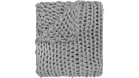 Image of a Jaoquim Knit Throw (Gray)