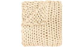 Image of a Jaoquim Knit Throw (Ivory)
