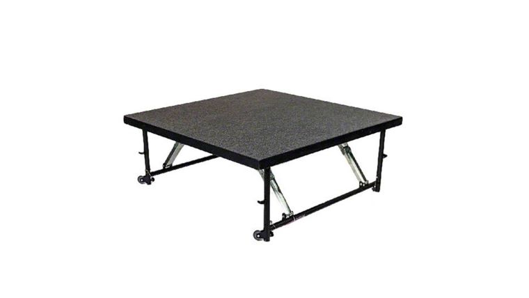 Picture of a (Size Stage) Black Top Stage Deck